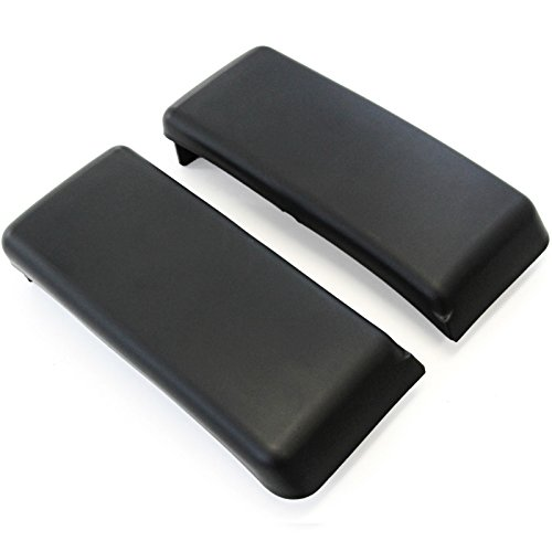 Red Hound Auto Front Bumper Pads Guards Compatible with Ford F-150 F150 2009-2014 Insert Cap Delete Kit Pair RH & LH Both Right and Left Black