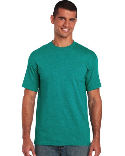 Gildan T-shirt en coton épais 40 coloris - Vert - Military Green - Medium