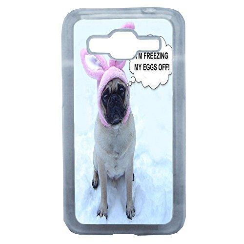 Lapinette Bonus Humor Pug-Cover per Samsung Galaxy Core