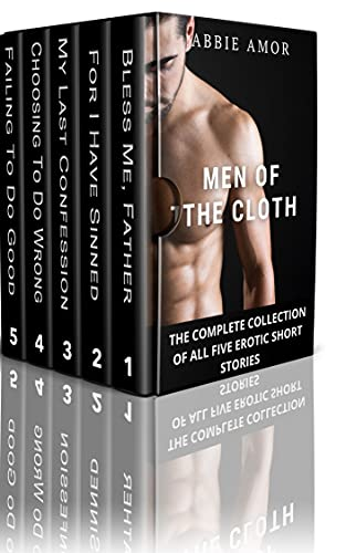 Men Of The Cloth: The Complete Collection of All Five Erotic Short Stories (English Edition)