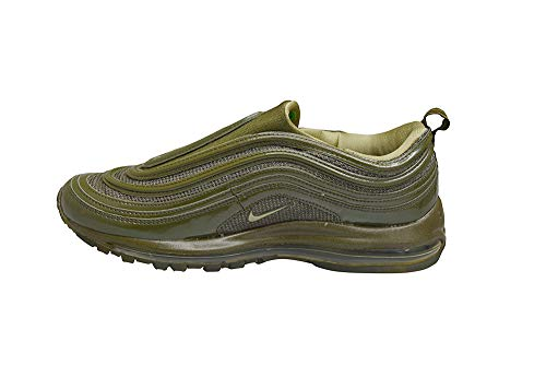 Nike Hombres – Air Max 97 S sin cordones *Rare* Deadstock OG – Bronce oliva – 609113-291, color Verde, talla 42.5 EU