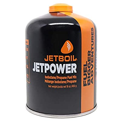 Jetboil Jetpower Fuel for Jetboil Camping and Backpacking Stoves, 450 Grams