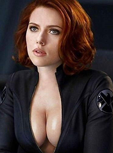 "Powerwolf2008 1-Movie Scarlett Johansson Natasha Romanoff 3 Refrigerator Magnet Fridge Size 2.5"" x 3.5"" Mini Poster Decor Private Collection Gift Movie Toolbox Locker"
