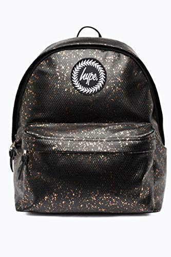 Hype Flakes, Mochilas Unisex adulto, Multicolor (Black/Copper), 30x41x15 centimeters (W x H x L)