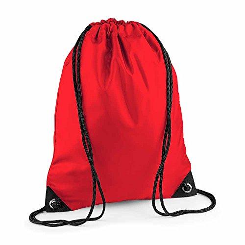 Bag Base - sac à dos à bretelles - gym - linge sale - chaussures - BG10 - rouge bright