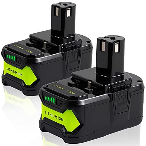 【Upgrade】 TenHutt 2 Packs 6.0Ah P108 Lithium Replacement Battery...