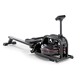A rowing machine for indoor use