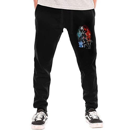 Boku No Hero Academia – Iida Tenya – Pantalón largo con bolsillo para hombre, Todoroki Shoto, M