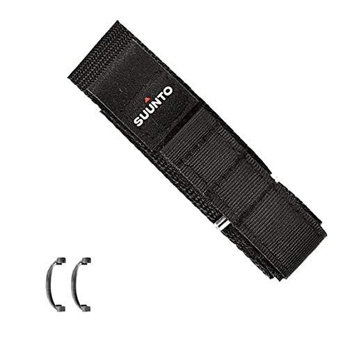 Pulseira de Tecido Vector, Suunto, SS004769000, Acessórios para Smartwatch, Preto, Único