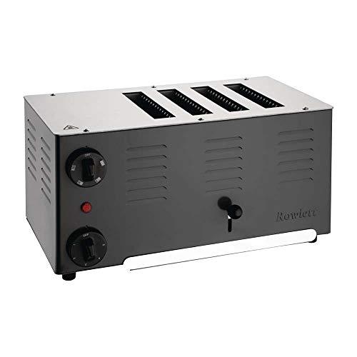 Rowlett Rutland Regent Toaster 4ATBB-131-4 Schlitze schwarz