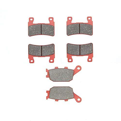 MEXITAL Bremsbeläge Vorne + Hinten für CB 1300 F3/F13 (03-04) CB 1100 (Non ABS) (13-14) CBR 929 RR/CBR 954 RR (00-03) CB 400 SF4/5/S5 (NC39) (04-05) CBR 600 FS Sport (FS1/FS2) (01-02)