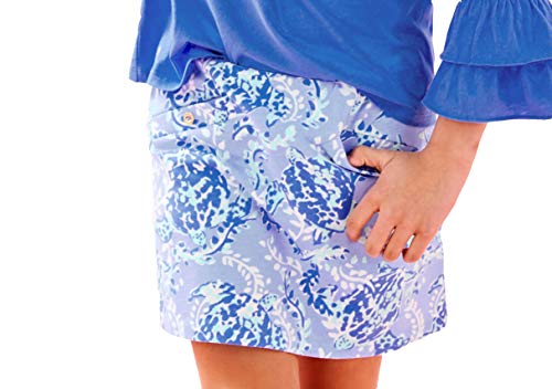 Lilly Pulitzer - Girls Madison Skort (Turtley Awesome, S)