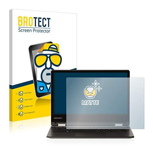 BROTECT 2X Entspiegelungs-Schutzfolie kompatibel mit Medion Akoya E2228T (MD 60250) Bildschirmschutz-Folie Matt, Anti-Reflex, Anti-Fingerprint