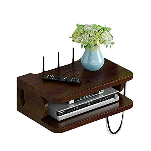 Caja de Almacenamiento enrutador WiFi, Estante de Pared de TV, enrutador, Tira de energía, Caja de Almacenamiento de Gato óptico, Estante montado en la Pared, Rejilla de Almacenamiento de Pared