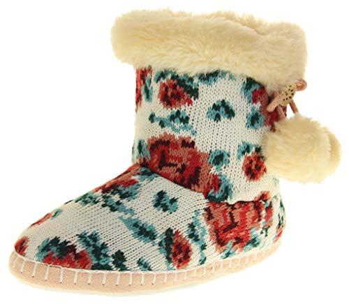 Dunlop Mujer Cálidas Zapatillas Casuales Y Acogedoras EU 40-41