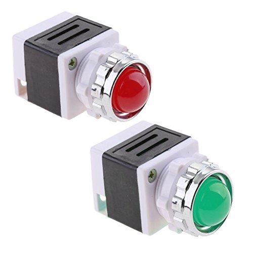 Sharplace 2pcs Indicateur Signal Light 220 V Lumière De Puissance Signal Voyant