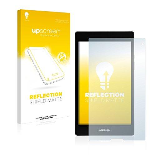 upscreen Entspiegelungs-Schutzfolie kompatibel mit Medion Lifetab P8311 (MD 99443) – Anti-Reflex Bildschirmschutz-Folie Matt