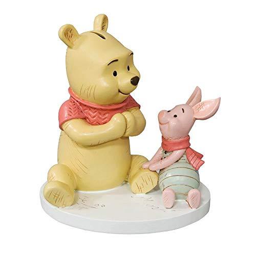 Disney Winnie The Pooh & Piglet Money Box Bank Baby Nursery Christening Gift
