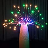 DIY Fireworks Lights, wang JESS Home Decoration Waterproof Explosion Fireworks Copper Line Fairy Lights for Garden Patio Christmas Wedding