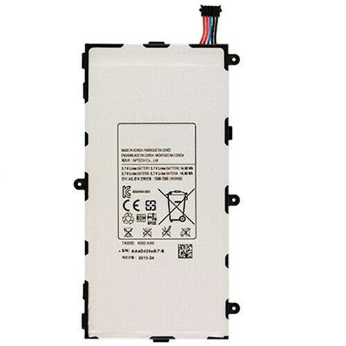 7XINbox T4000E 3.7V 4000mAh Reemplazo de batería para Samsung Galaxy Tab 3 7.0 SM-T210 SM-T211 SM-T217 GH43-03911A GT-P3200 GT-P3210 GT-P3220 T2105 LT02 T210 T210R T211 T215 T217