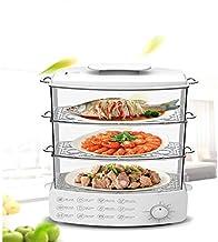 XJJZS Vapeur électrique ménager Machine de petit-déjeuner multifonctionnel chaudière à vapeur à double couche électrique à...