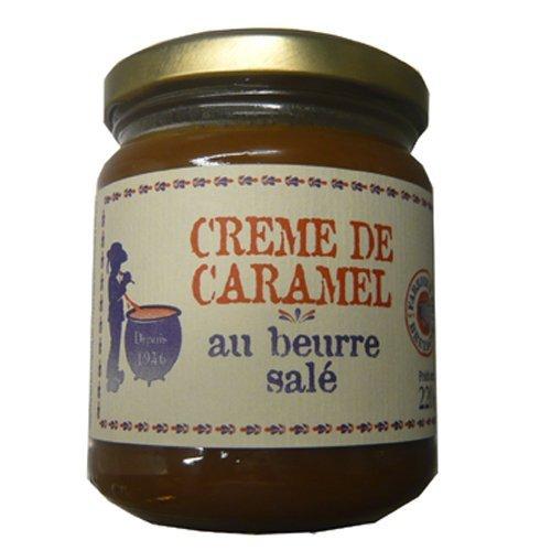 Karamellcreme mit gesalzener Butter (Salidou), aus Frankreich 220g, Crème de Salidou fabriquée en Bretagne
