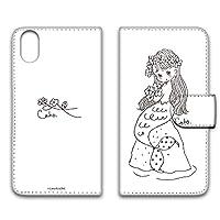 WHITENUTS Caho iPhoneXR ケース 手帳型 UVプリント手帳 人魚A (ch-026) TC-C0551615/L