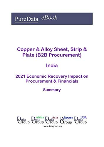 Copper & Alloy Sheet, Strip & Plate (B2B Procurement) India Summary: 2021 Economic Recovery Impact on Revenues & Financials (English Edition)