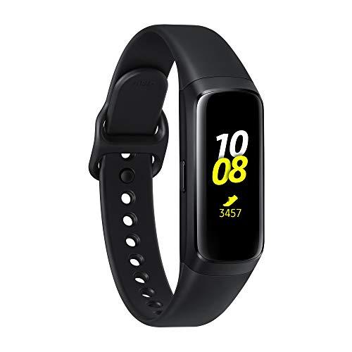 """Samsung Galaxy Fit Nero, con Cardiofrequenzimetro, Accelerometro, Giroscopio, Tracker allenamento, Display 0.95"""" Full Color AMOLED Full Touch, batteria 120mAh"""