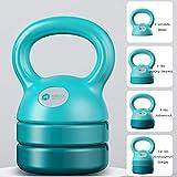 ZXQZ Pesa de Gimnasia Pesas, Antideslizante Yoga Fitness Kettle Bell, Adecuado para Principiantes e Intermedios, Kettlebells Set, Pilates Kettle Dumbbell Mancuerna pequeña (Color : Style4)