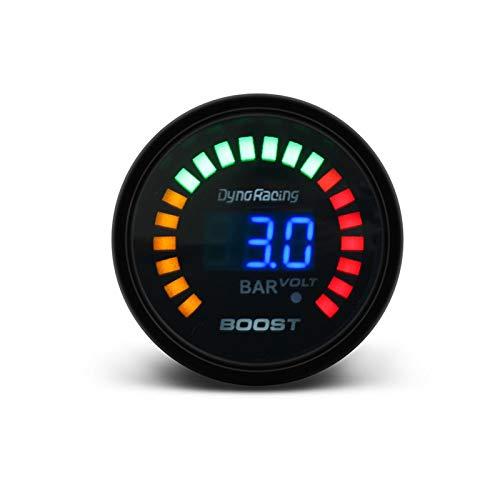 EWQK Diseño clásico 2'52mm 20 LED Digital Boost Temp Temp ACEAR Temp Aceite Prensa DE Prensa VOLTÍMERO DE Combustible DE Combustible TACHÓMÓTRO RPM EGT Temp Gauge Accesorio