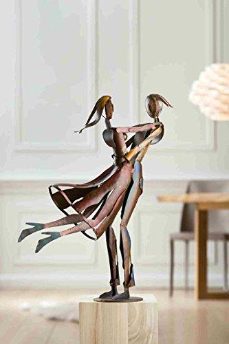 GILDE Metalen sculptuur Lovely Twist -Sondered.Aanbieding reg.129 - L = 17,5 x B = 44 x H = 61 cm