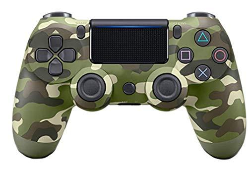 Titoboo Für Ps4 Controller ,Bluetooth Wireless Controller Für PS4 / PS4 Pro / PS4 Slie/Playstation 4 Mit Doppelter Vibration,Rosso Mimetico-Grüne_Tarnung