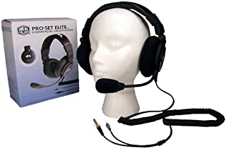 Heil Sound Pro Set Elite-6 Headset ultimate boomset designed for commercial sportscasters, podcasters and amateur radio operators using the newly designed Heil HC 6 wide response microphone element.