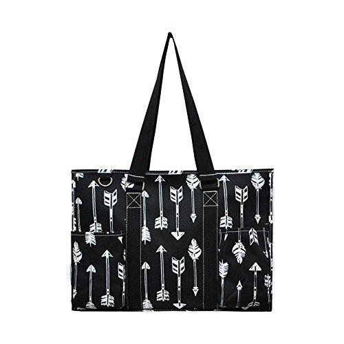 N Gil All Purpose Organizer Medium Utility Tote Bag 3 (Arrow Black)