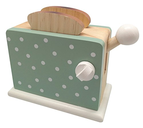Magni1032G Toaster aus Holz, grün