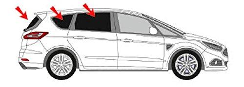 Solarplexius Sonnenschutz Autosonnenschutz Scheibentönung Sonnenschutzfolie S-Max 2. Gen. ab 2015