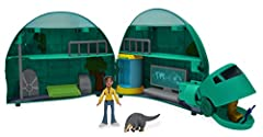 Now, you can re-enact some of the most memorable Tortuga moments from the top-rated PBS show Wild Kratts with this gigantic Tortuga playset! The perfect companion to your Wild Kratts figures and accessories! Comes with 10 fun features including a lau...