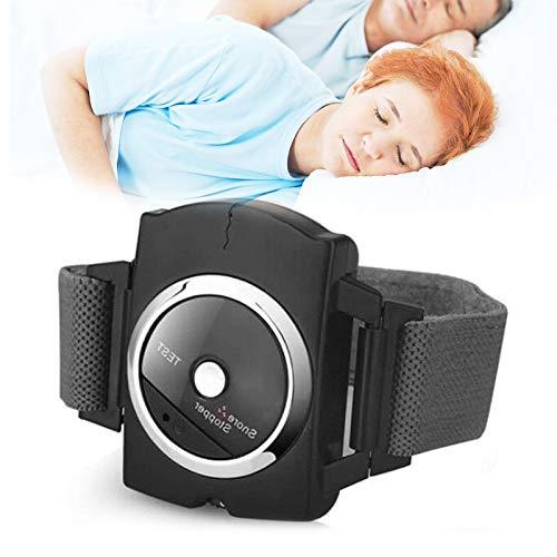 WOERD Antirronquidos y Apneas Infrarrojo Dispositivo Anti-Ronquidos Pulsera Inteligente Reloj Antironquidos Biosensor Ayudas para Dormir para Hombres Mujeres1 pcs