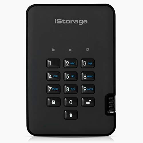 iStorage Portable diskAshur2, negro
