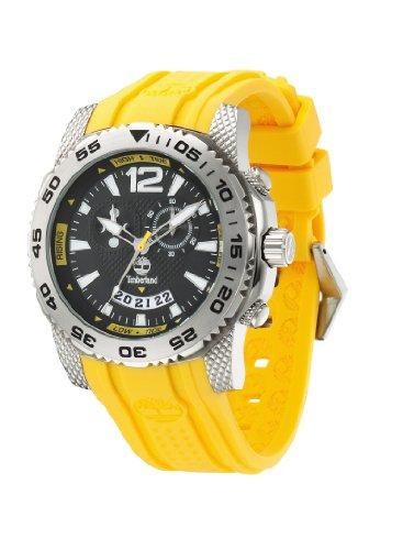 Timberland Herren-Armbanduhr XL HYDROCLIMB Analog Kautschuk TBL13319JS-02