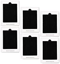 6 Pack Carbon Activated Refrigerator Air Filter Replacement, Refrigerator Pure Air Filters Replacement Compatible