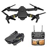 CNCBT Drone avec caméra, Drone HD Photographie aérienne E58 Télécommande Avion 4K Pixel JY019 Avion Convient pour Les débutants