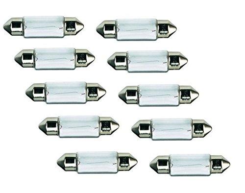 lima 10 x (Stück) Soffitte Stift-Lampe 36mm c5w 5 Watt 12V Glühbirne Angebot neu 01275