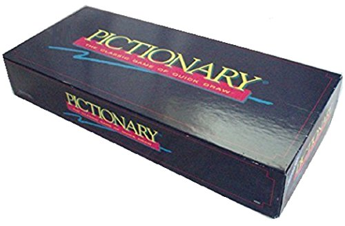 Pictionary, the Classic Game of Quickdraw (Updated for the 90s)