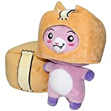 Betory 27 cm Peluche Lankybox Foxy, Peluche Robot de Dibujos Animados extraíble, Peluche Lankybox, Almohada para niña Regalo para niños Cumpleaños Navidad Halloween