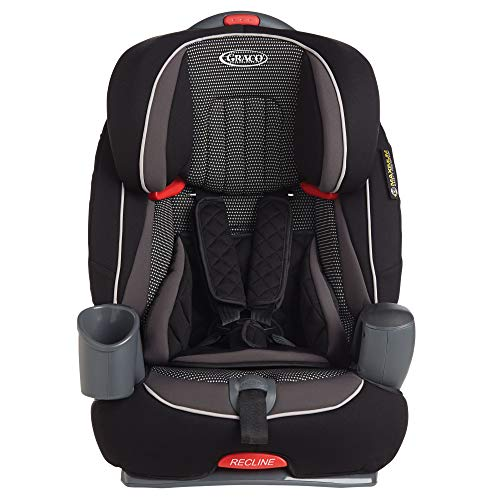 Graco Nautilus Harnessed Booster Car Seat Group 1/2/3, Grav
