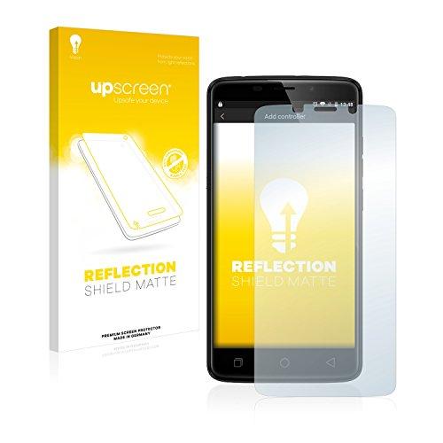 upscreen Entspiegelungs-Schutzfolie kompatibel mit Ulefone Vienna – Anti-Reflex Bildschirmschutz-Folie Matt