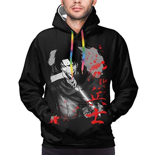 BGTEEVER Shinobu Art Monogatari Men Full Printed Hoodies Sweaters Pullover...
