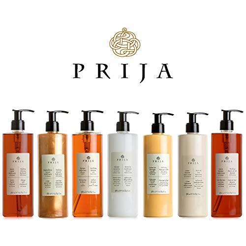 Prija XXL Luxus Set 7x 380ml Seife, Hair & Body, Haarshampoo, Spülung